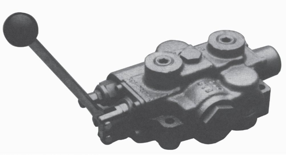 Prince Monoblock Valve Motor Spool 4way 3pos Friction