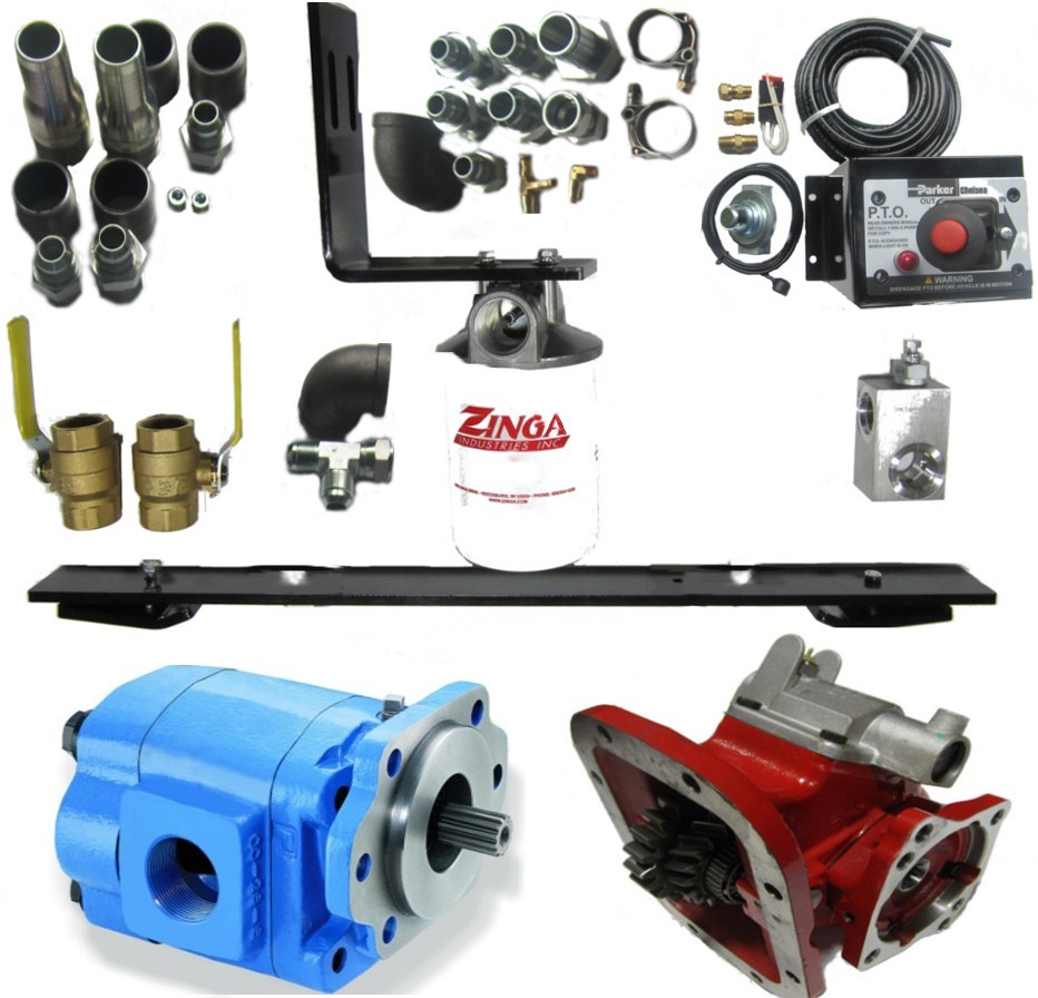 Wet Kit For Belt Trailer Pto Included Hydraulics Pneumatics And Barnes Hydraulic Pump Wiring Diagram More Views