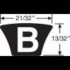 Gates B28 Hi-Power II Belt